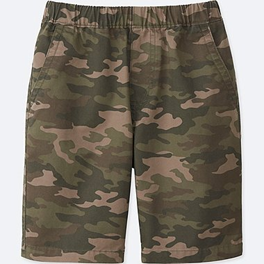 BOYS EASY SHORTS, OLIVE, medium