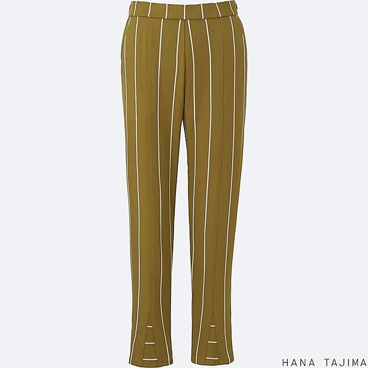 WOMEN Hana Tajima Stripe Tapered Ankle Length Trousers
