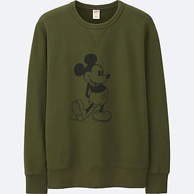 MEN DISNEY COLLECTION SWEATSHIRT, OLIVE, medium