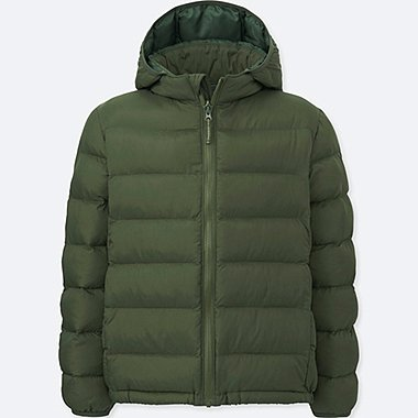 BOYS LIGHT WARM PADDED PARKA, OLIVE, medium
