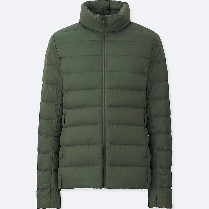 Women Ultra Light Down Jacket, OLIVE, large