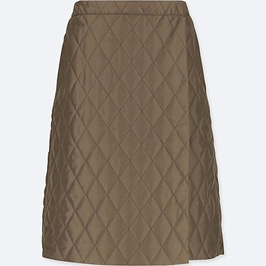 WOMEN BLOCKTECH WARM LINED SKIRT