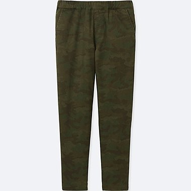 KIDS WARM-LINED PANTS, OLIVE, medium