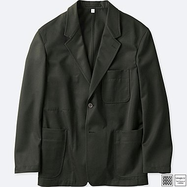 MEN UNIQLO U WOOL BLENDED JACKET