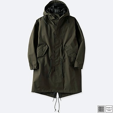 MEN UNIQLO U BLOCKTECH MODS COAT