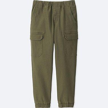 BOYS CARGO JOGGER PANTS, OLIVE, medium