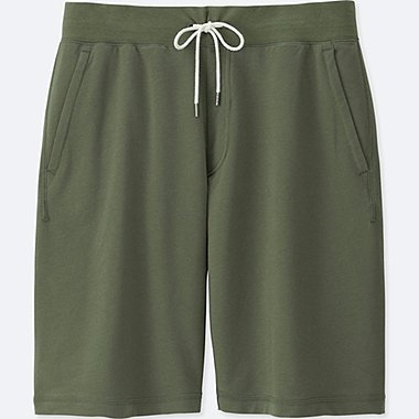 MEN JERSEY EASY SHORTS, OLIVE, medium