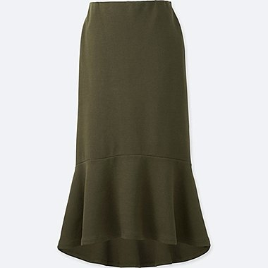 WOMEN MILANO RIBBED SKIRT