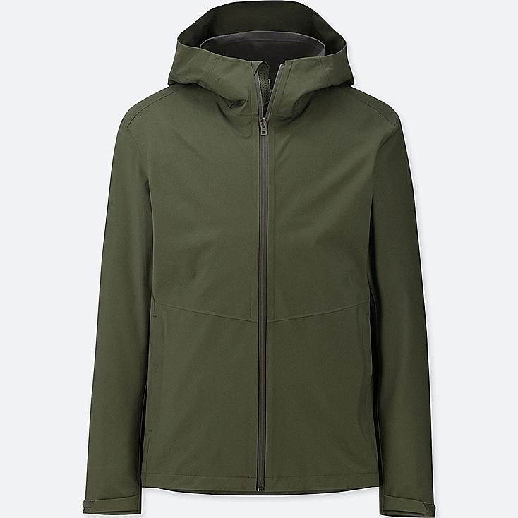 MEN BLOCKTECH PARKA, OLIVE, large