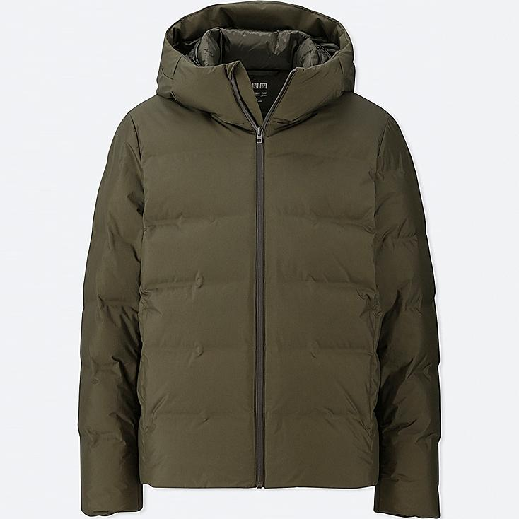 59f800fdb7d MEN SEAMLESS DOWN HOODED PARKA