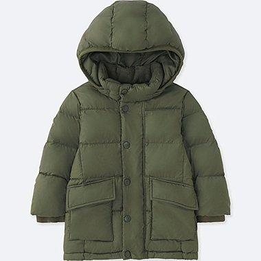 TODDLER WARM PADDED COAT, OLIVE, medium