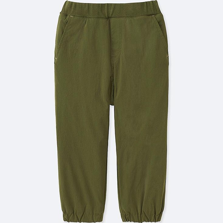 TODDLER STRETCH WARM-LINED PANTS, OLIVE, large