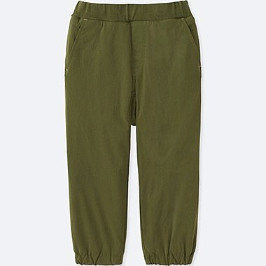 TODDLER STRETCH WARM-LINED PANTS, OLIVE, medium