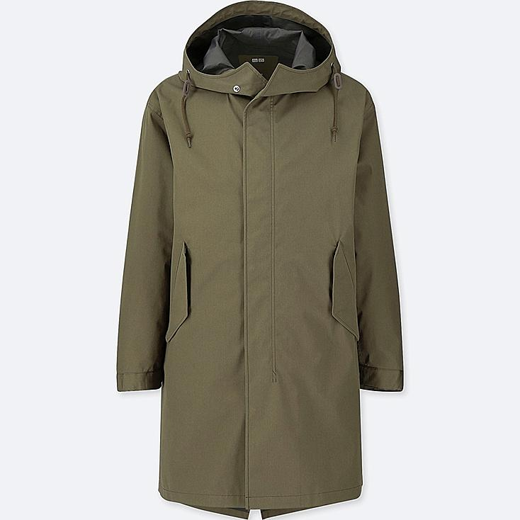 MEN BLOCKTECH FISHTAIL PARKA, OLIVE, large
