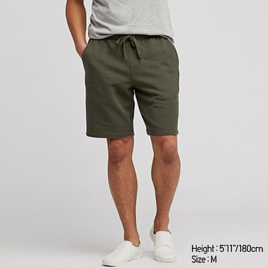 MEN EASY JERSEY HEATHER SHORTS