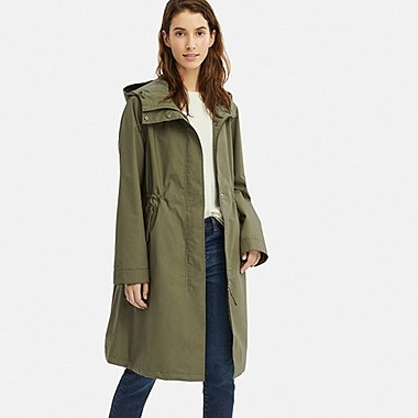 WOMEN BLOCKTECH MODS COAT, OLIVE, medium