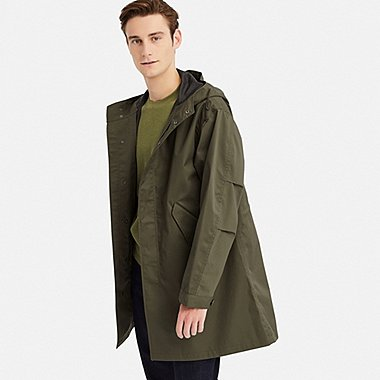 MEN BLOCKTECH FISHTAIL PARKA
