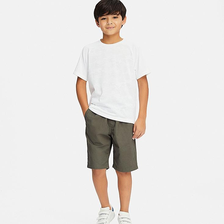 BOYS EASY SHORTS, OLIVE, large