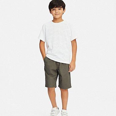 BOYS EASY SHORTS, OLIVE, medium