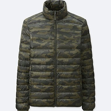MEN ULTRA LIGHT DOWN JACKET, DARK GREEN, medium