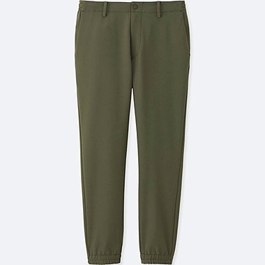 MEN JOGGER PANTS (ULTRA STRETCH), DARK GREEN, medium