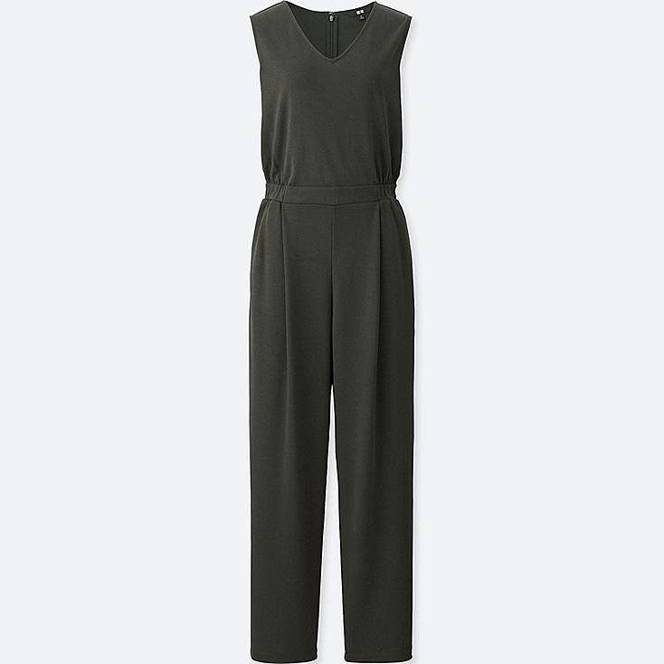 0b61f3d5aa0a WOMEN CUT   SEWN V-NECK JUMPSUIT