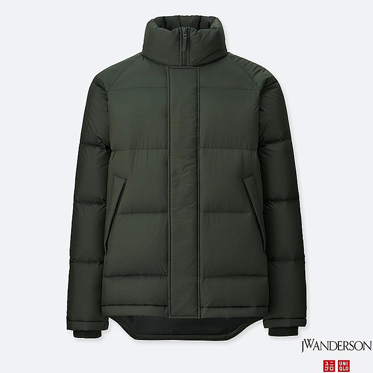 MEN JWA LIGHT DOWN JACKET, DARK GREEN, large