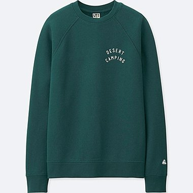 WOMEN CALIFORNIA MEMORIES LONG-SLEEVE SWEATSHIRT, DARK GREEN, medium