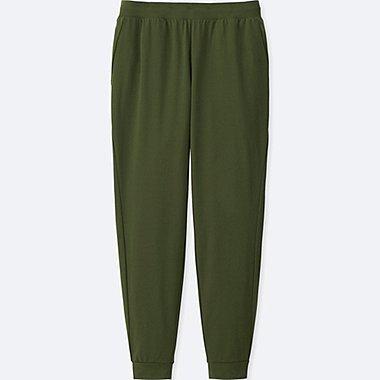 WOMEN DRY-EX ULTRA STRETCH ANKLE-LENGTH PANTS, DARK GREEN, medium