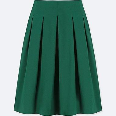 women high waist dry stretch tucked skirt