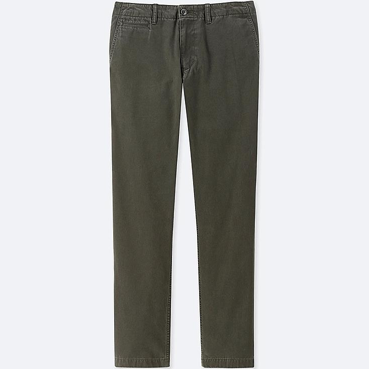 MEN VINTAGE REGULAR-FIT CHINO FLAT-FRONT PANTS at UNIQLO in Brooklyn, NY | Tuggl
