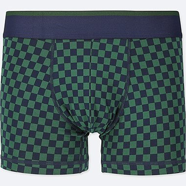 MEN SUPIMA® COTTON LOW-RISE BOXER BRIEFS, DARK GREEN, medium
