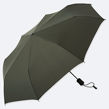 COMPACT UMBRELLA, DARK GREEN, medium