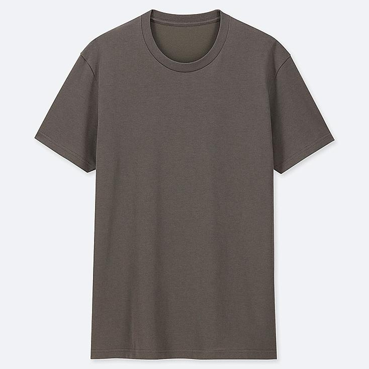 Shirt CorteUniqlo Uomo Maniche Dry T A Tondo Scollo E b7I6gvfyYm