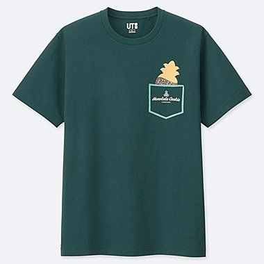 THE BRANDS HAWAIIAN LOCO UT (SHORT-SLEEVE GRAPHIC T-SHIRT), DARK GREEN, medium