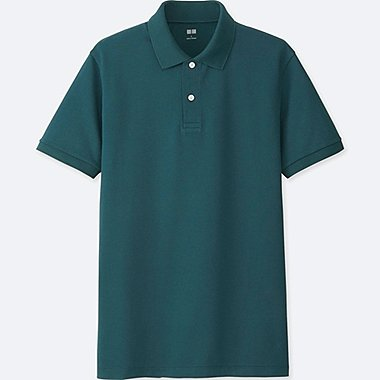 MEN Dry Pique Short Sleeve Polo Shirt