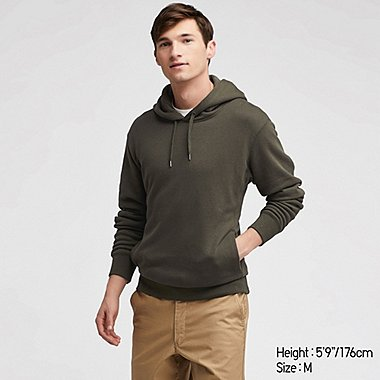 MEN LONG SLEEVED PULLOVER HOODIE
