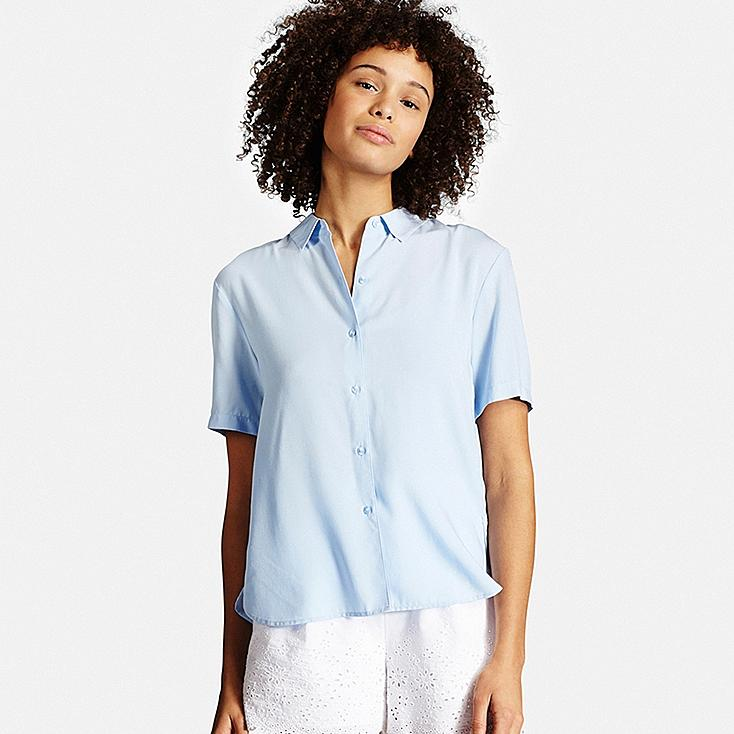 Women Short Sleeve Blouse | UNIQLO US