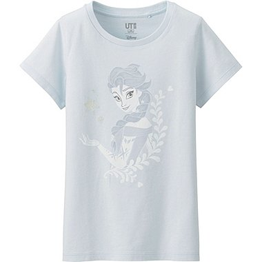 Girls Disney Project Graphic Tee, LIGHT BLUE, medium