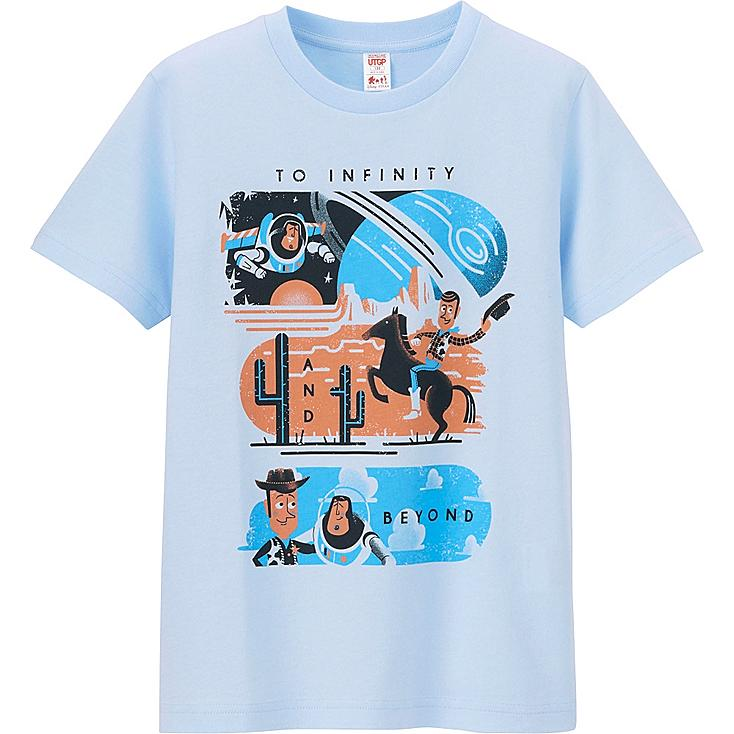 UTGP Pixar Graphic T-Shirt, LIGHT BLUE, large
