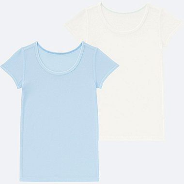 BABIES TODDLER AIRism Mesh T-Shirt 2 Pack