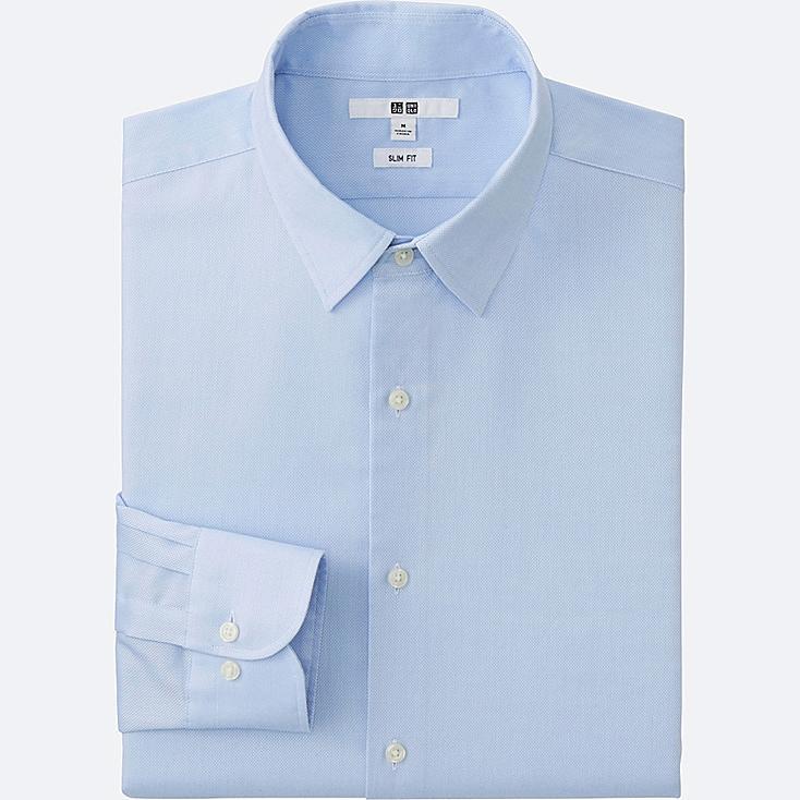 MEN Easy Care Slim Fit Oxford Long Sleeve Shirt