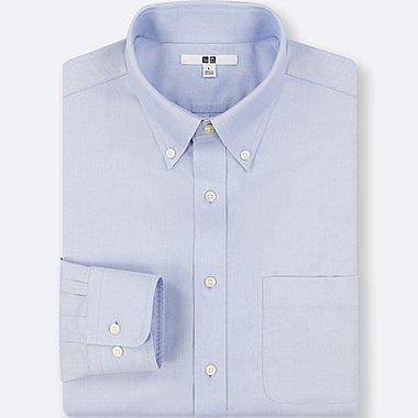 MEN NO-IRON LONG-SLEEVE SHIRT (ONLINE EXCLUSIVE), LIGHT BLUE, medium