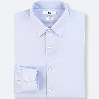 HERREN Oxford Easy Care Slim Fit Hemd