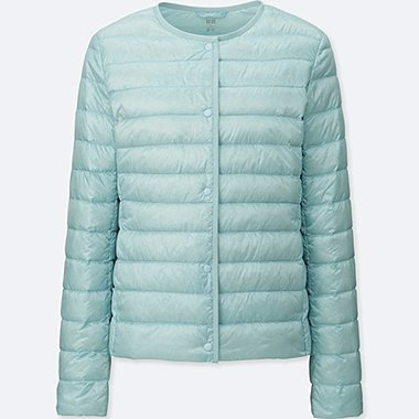 WOMEN ULTRA LIGHT DOWN COMPACT JACKET, LIGHT BLUE, medium
