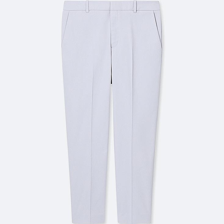 WOMEN DRY STRETCH CROPPED PANTS, LIGHT BLUE, large