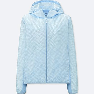 WOMEN SPRZ NY POCKETABLE PARKA (FRANCOIS MORELLET), LIGHT BLUE, medium