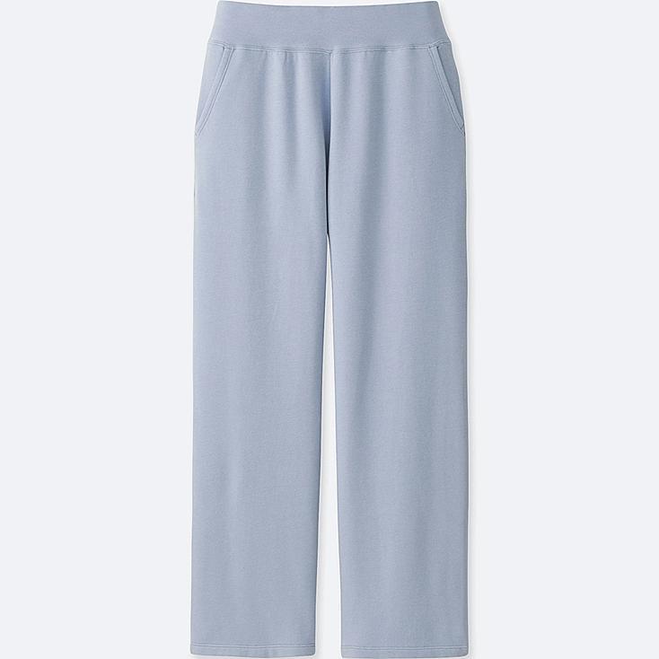 WOMEN ULTRA STRETCH LOUNGE PANTS, LIGHT BLUE, large