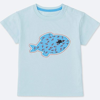 TODDLER THE PICTURE BOOK SHORT-SLEEVE GRAPHIC T-SHIRT, LIGHT BLUE, medium