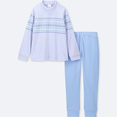 GIRLS FLEECE LONG SLEEVED LOUNGE SET